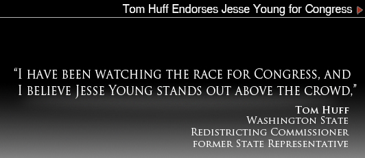 Tom Huff Endorses Jesse Young for Congress